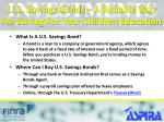 u s savings bonds a reliable way for saving for your children education