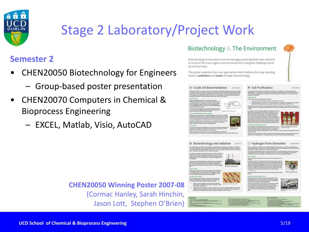 Stage 2 Laboratory/Project Work
