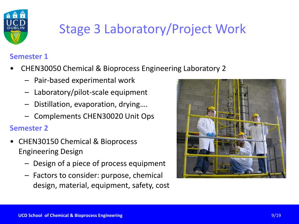 Stage 3 Laboratory/Project Work