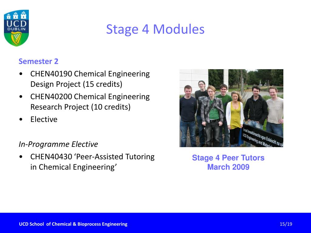 Stage 4 Modules