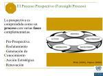 3 el proceso prospectivo foresight process
