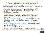 casos exitosos de aplicaci n de prospectiva tecnol gica y corporativa