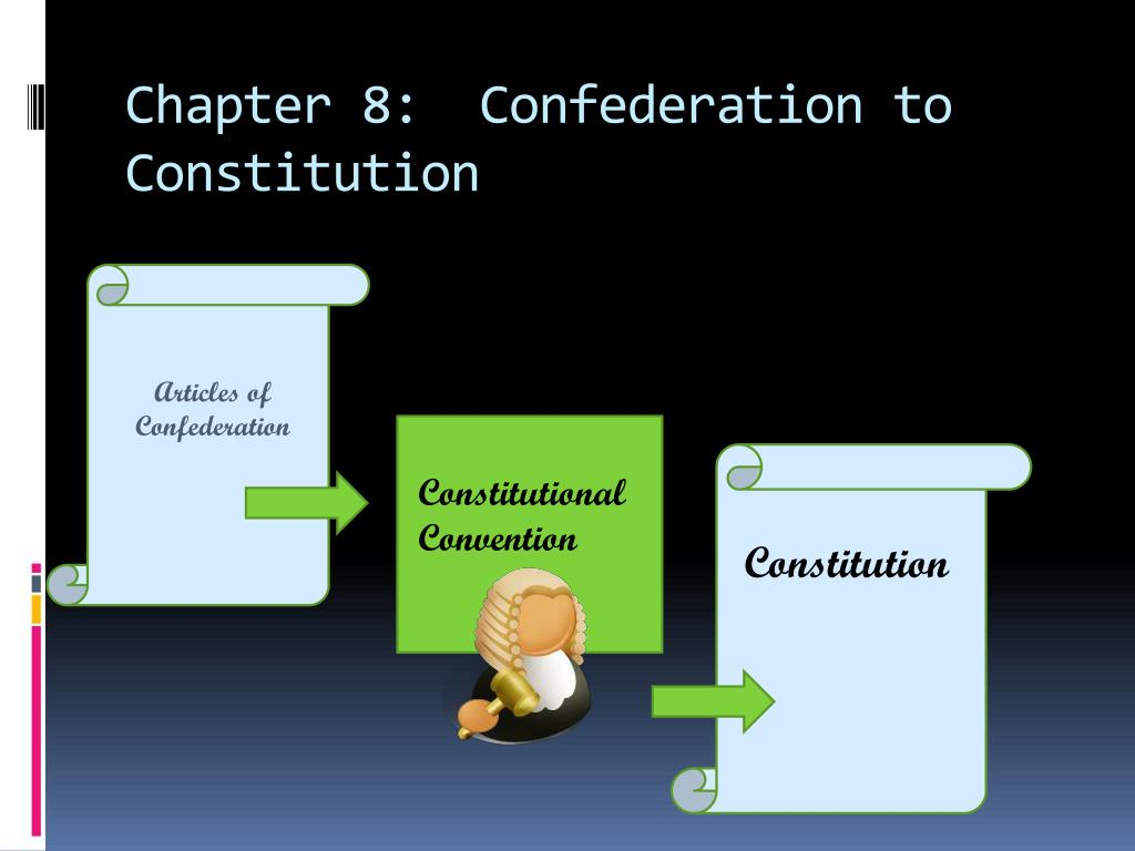 confederation and constitution essay You have not saved any essays from confederation to the constitution constitution - a framework for settling political disputes it involves a set of fundamental rules and customary procedures designed to resolve political differences and make political decisions legitimate there are two types.