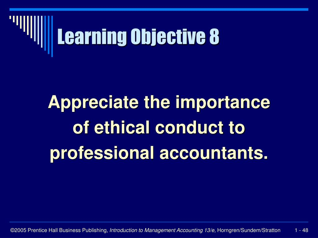 the importance of ethics in conducting business