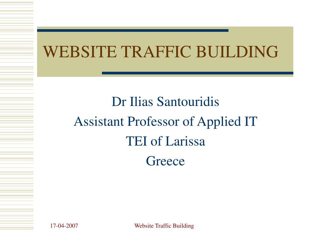 website traffic building l.