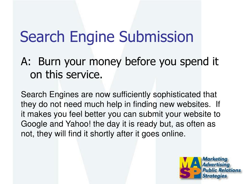 Search Engine Submission