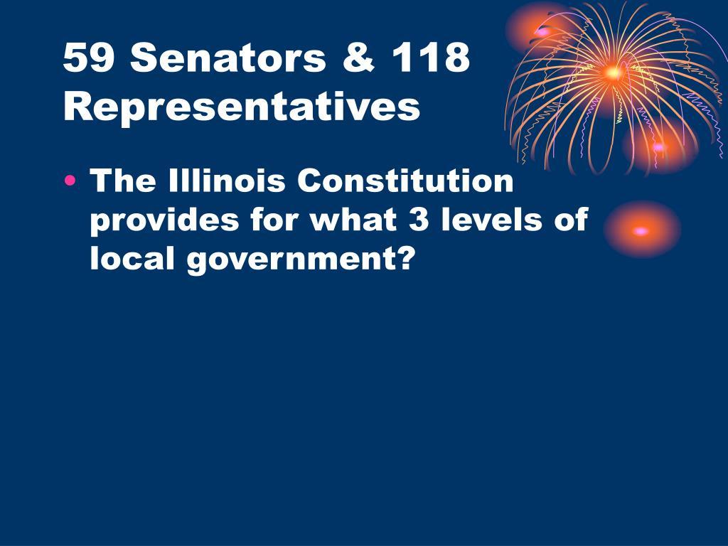 59 Senators & 118 Representatives