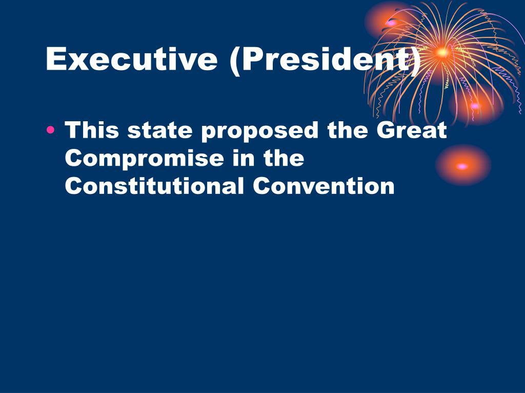 Executive (President)
