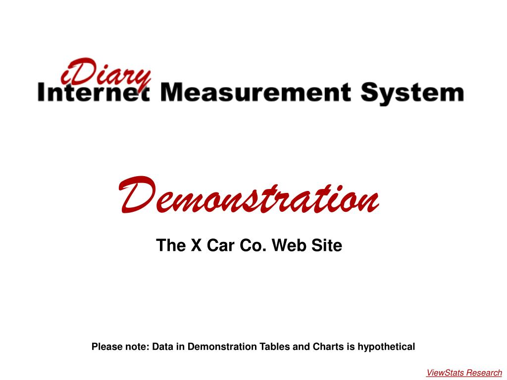 x car demonstration l.