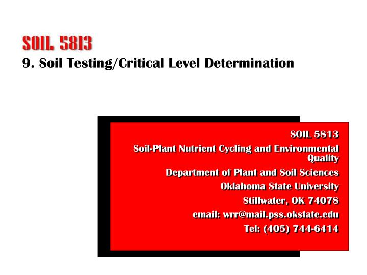 determination of the levels of nitrite