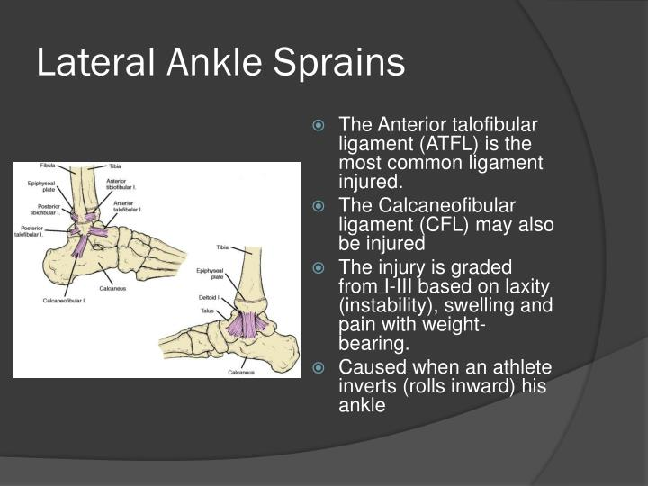 analysis of the ankle The ankle joint, which connects the foot with the lower leg, is injured often an unnatural twisting motion can happen when the foot is planted awkwardly, when the.