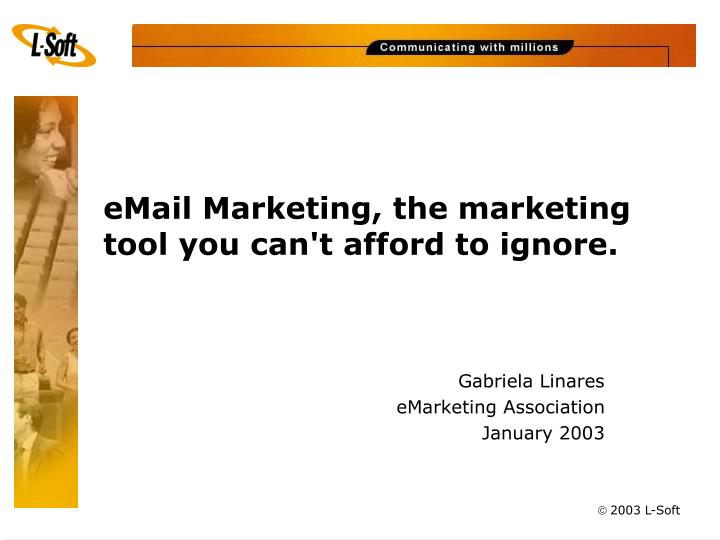 Email marketing the marketing tool you can t afford to ignore