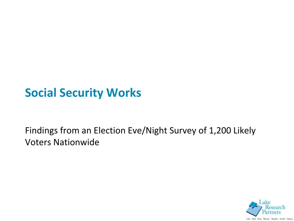 social security works l.