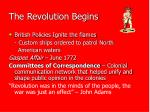 the revolution begins