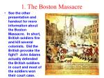 1 the boston massacre