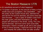 the boston massacre 177015