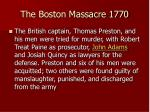 the boston massacre 177017