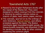 townshend acts 1767