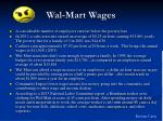 wal mart wages