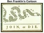ben franklin s cartoon