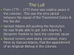 the lull