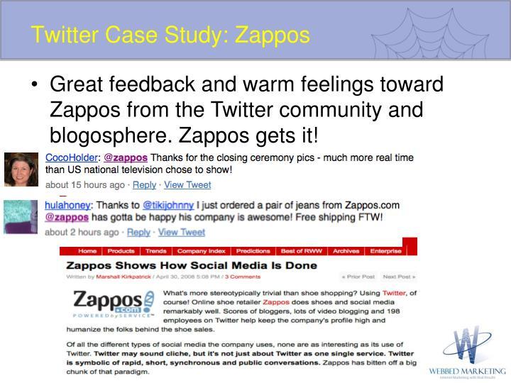 Twitter Case Study: Zappos