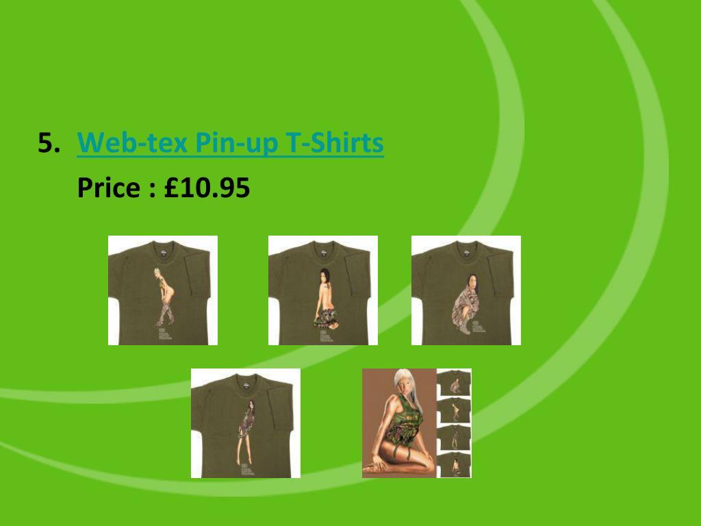 Web-tex Pin-up T-Shirts