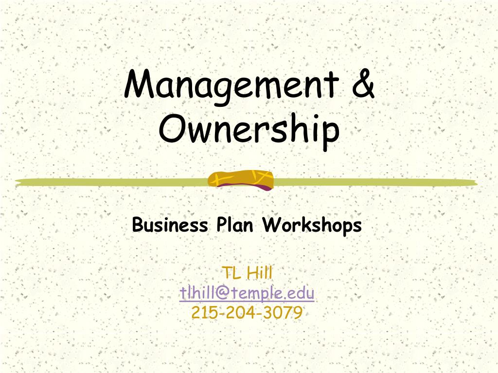 management ownership l.