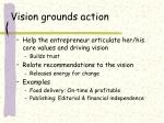 vision grounds action