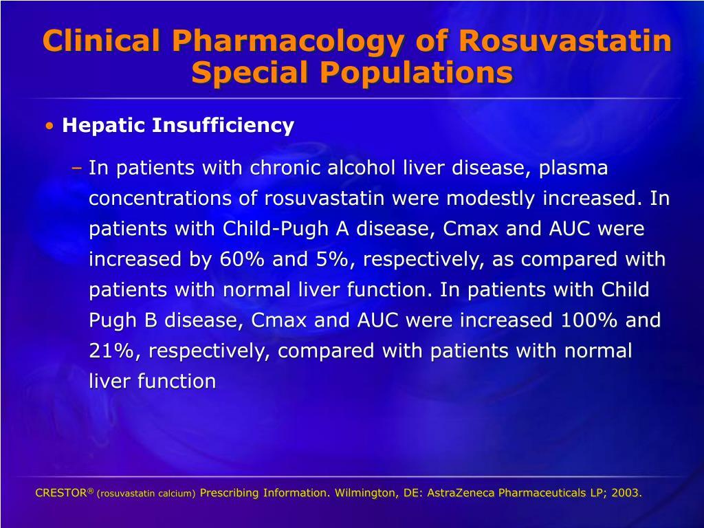 Clinical Pharmacology of Rosuvastatin