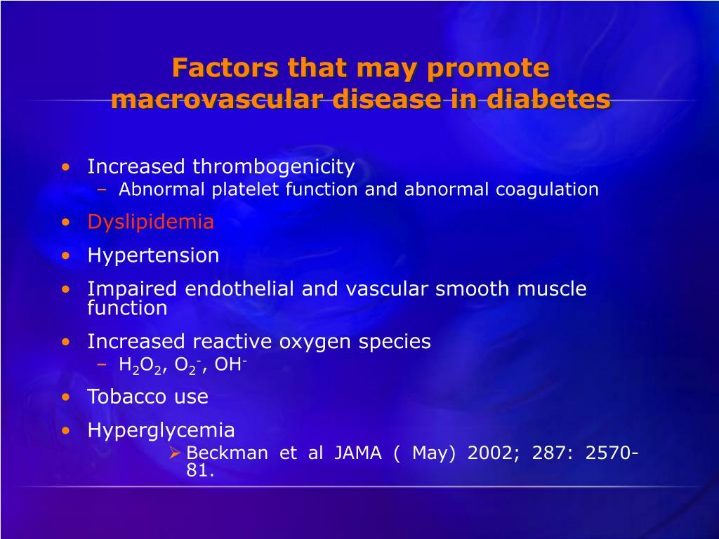 Increased thrombogenicity