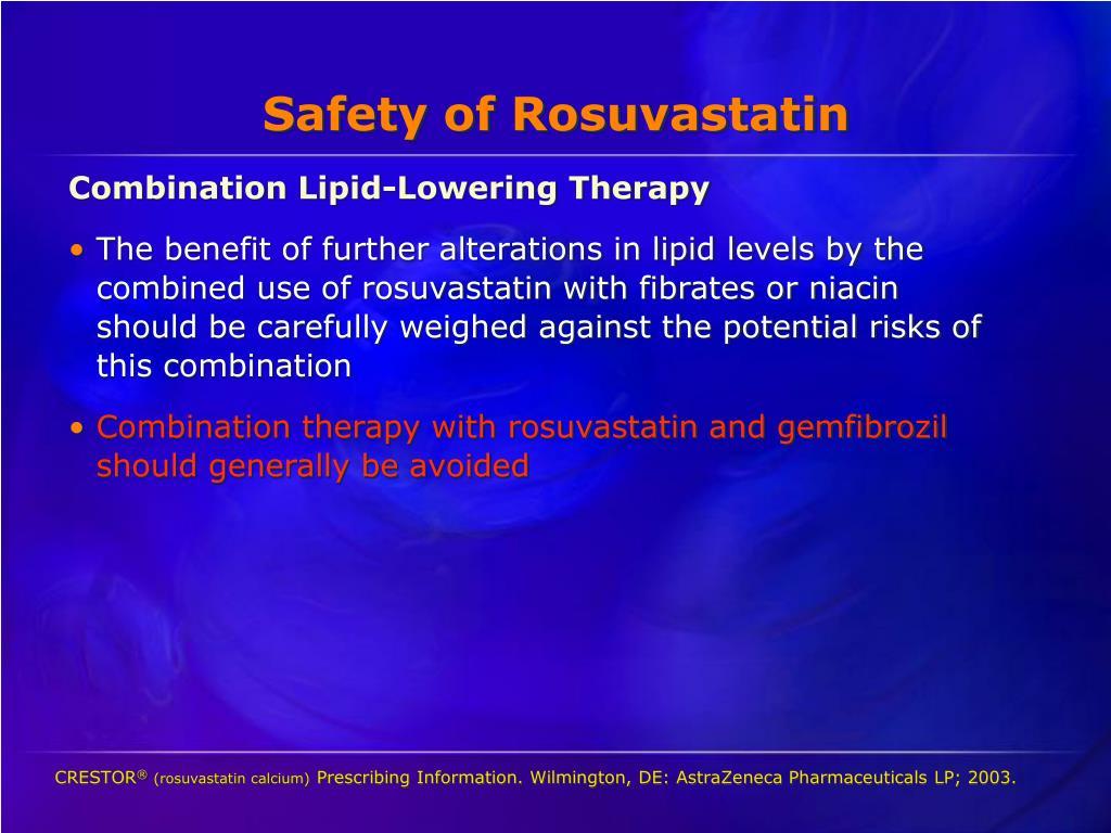 Safety of Rosuvastatin