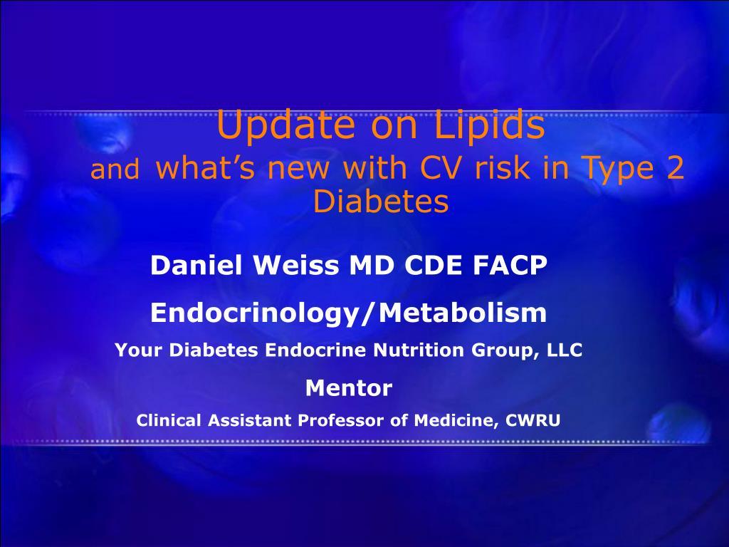 Daniel Weiss MD CDE FACP