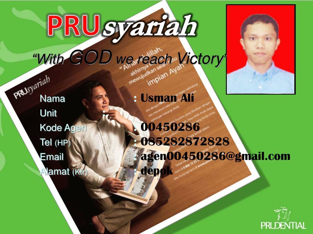 Ppt Memahami Prudential Syariah Powerpoint Presentation Free Download Id 449932