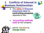 i conflicts of interest in business relationships4