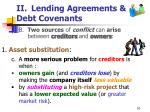 ii lending agreements debt covenants10