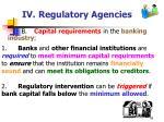 iv regulatory agencies43
