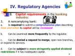 iv regulatory agencies44