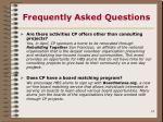 frequently asked questions14