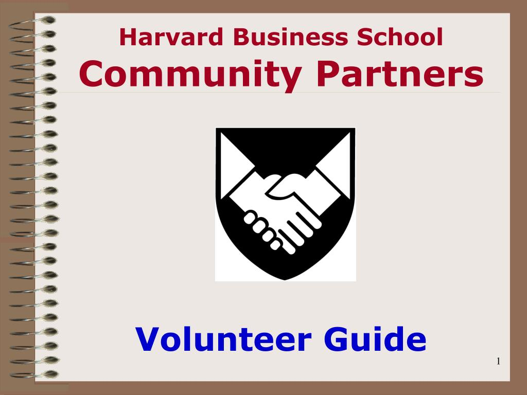 harvard business school community partners l.