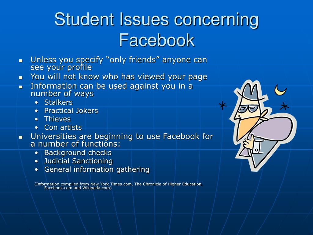 PPT - Facebook: The good, the bad and the ugly PowerPoint