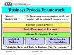business process framework
