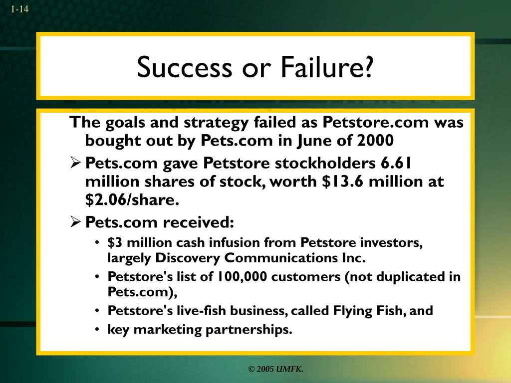 Success or Failure?