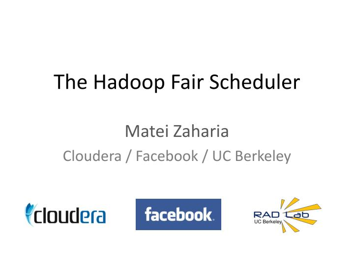 the hadoop fair scheduler n.
