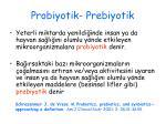 probiyotik prebiyotik