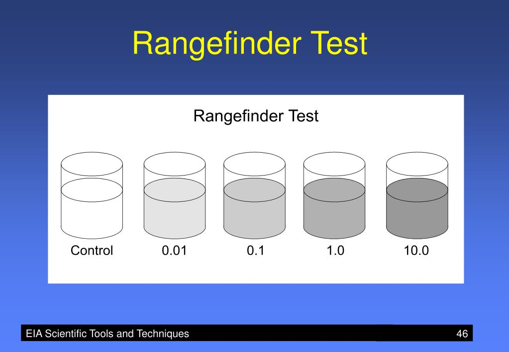 Rangefinder Test