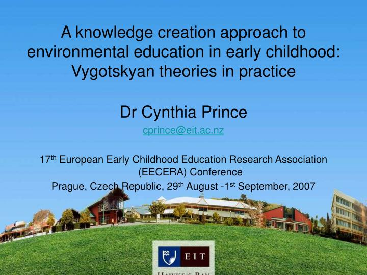 environmental education in early childhood