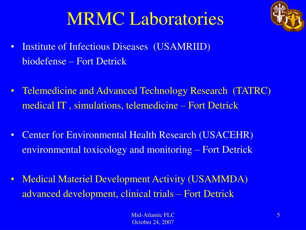 MRMC Laboratories