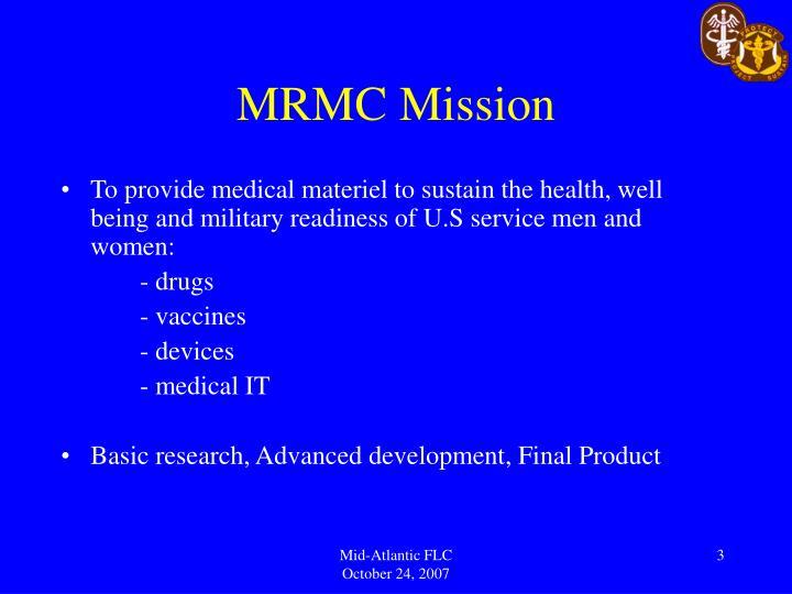 Mrmc mission