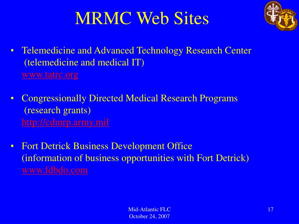 MRMC Web Sites